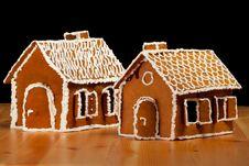 Free Christmas Gingernut House Royalty Free Stock Photo - 17836665
