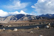 Free Sharp Ladakh Landscape Royalty Free Stock Images - 17837039