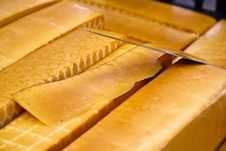 Free Smoked Cheese Royalty Free Stock Photography - 17837117