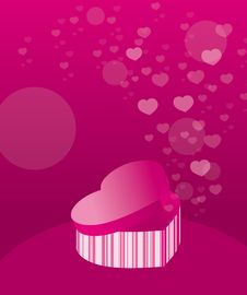 Free Love Gift Boxes Royalty Free Stock Images - 17837259