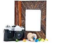 Free Photo Album And Camera Royalty Free Stock Photos - 17837268