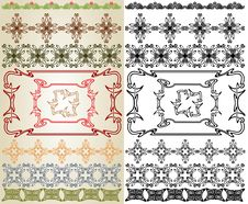 Free Art Nouveau Cross Element Stock Photos - 17837463