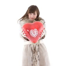 Free Girl In Fur Coat Stock Photo - 17837710