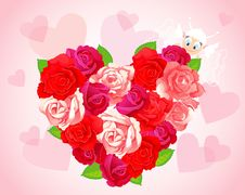 Free Roses Illustration Stock Photography - 17838502