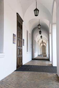 Free Archway In The Kyiv-Mohyla Academy In Kiev Stock Photos - 17838763