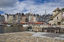 Free French Harbor In Honfleur Royalty Free Stock Image - 17838766