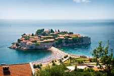 Free St. Stephan Island In Adriatic Sea Stock Images - 17838794