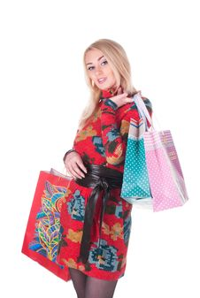 Free Beautiful Shopping Royalty Free Stock Photography - 17838897