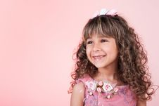 Free Beautiful Little Girl Smiling Royalty Free Stock Image - 17838936