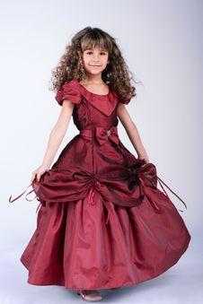 Free Beautiful Little Girl Dancing Royalty Free Stock Image - 17838946
