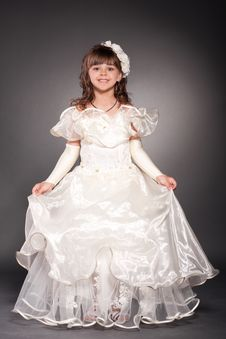 Free Beautiful Little Princess Dancing Stock Photo - 17838960