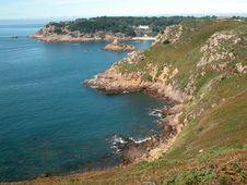 Free Portelet Bay, Jersey Stock Images - 17839184