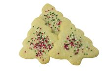 Free Christmas Tree Cookies Stock Image - 17839341
