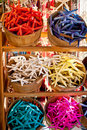 Free Baskets With Colored Sea Stars Stock Photo - 17841240