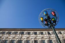 Free Turin - Piazza San Carlo Royalty Free Stock Images - 17840379