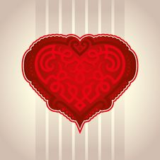 Free Valentine Heart Royalty Free Stock Image - 17840666