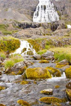 Free Dynjandi Waterfall - Western Iceland. Stock Photography - 17841002