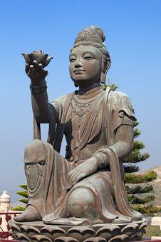 Free Bodhisattva Royalty Free Stock Image - 17842206