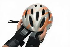 Free Helmet For Inline Skating Stock Photos - 17842243