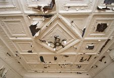 Free Old Victorian Ceiling Royalty Free Stock Image - 17842296
