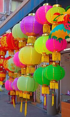 Free Traditional Chinese Paper Lantern Stock Images - 17842364