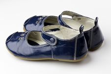 Free Blue Shoes Royalty Free Stock Photos - 17842898