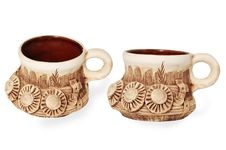 Free Tea Mug With Decorative Molding Stock Images - 17843034