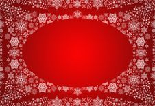 Free Winter Background With Snowflakes Stock Photography - 17843122
