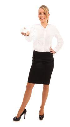 Free Business Woman Stock Image - 17843441