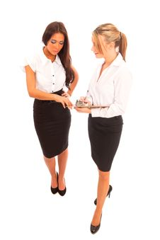 Free Two Business Women Royalty Free Stock Photography - 17843527