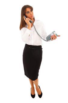 Free Business Woman Stock Image - 17843581