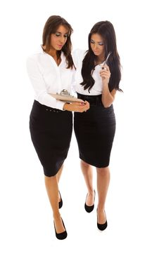 Free Two Business Women Stock Photo - 17843590
