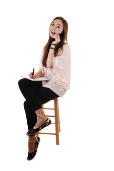 Free Young Girl Sitting. Stock Photography - 17845202