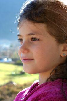 Free Portrait Of Girl Stock Image - 17845641