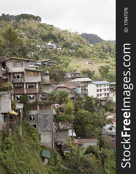 Housing In Banaue Philippines - Free Stock Images & Photos
