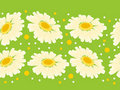 Free Seamless Floral Border Royalty Free Stock Photography - 17850487