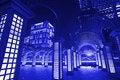Free Blue Style Night Scenes Of The Taipei City, Taiwan Royalty Free Stock Image - 17853086