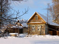 Free Wooden Country House In Russia. Stock Images - 17854314