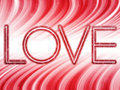 Free Valentine Day Love Word Background Stock Photography - 17855252