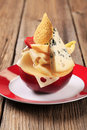 Free Cheese Appetizer Royalty Free Stock Photography - 17855777