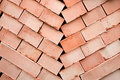 Free Background Of Many Red Bricks Stock Image - 17856161