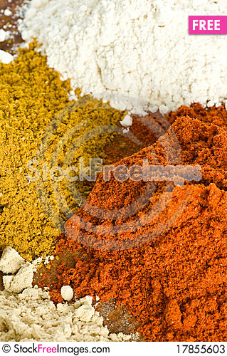 Free Spice Background Stock Photos - 17855603