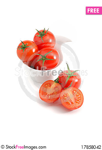 Free Cherry Tomatoes Stock Photography - 17858042
