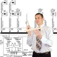 Free Thoughtful Engineer Stock Photo - 17850310