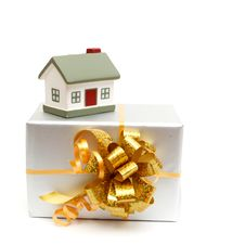 Free House As A Gift For You Stock Images - 17850584
