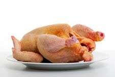 Free Raw Chicken Royalty Free Stock Photo - 17850695