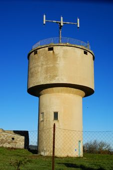 Free Water Tower Royalty Free Stock Image - 17851006