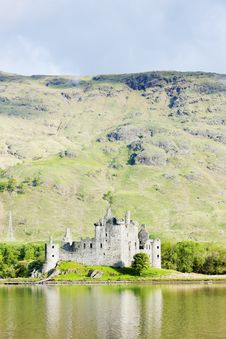 Free Kilchurn Castle Royalty Free Stock Image - 17851186