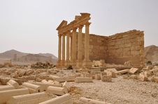 Free Funerary Temple In Palmyra, Syria Royalty Free Stock Photo - 17851525
