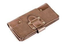 Free Brown Purse Royalty Free Stock Photography - 17851817